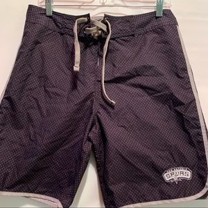 - NWT NBA San Antonio Spurs Mens Board Shorts